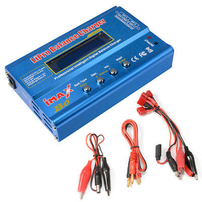 i-MAX B6 Lipo NiMh Li-ion Ni-Cd Battery Balance Digital Charger Discharger RC194