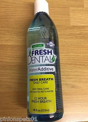 *fresh Breath* Dental Oral Care Water Additive No Brushing For Dogs & Cats