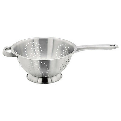 Judge Satin Stainless Steel Long Handle 24cm Colander