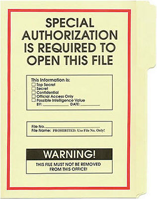 Special Authority File Folder 5-Pack
