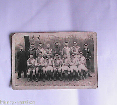 Headingley Albion Football Club FC Leeds Antique Team Postcard Photograph Rare