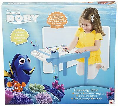 Disney Finding Dory Kids Childrens Colouring Desk Work Table