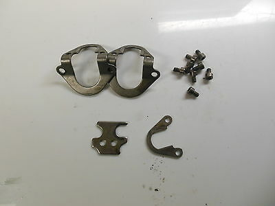 Mercury Optimax Outboard Fuel Rail Clamp and Screws,  P.N. 80483, Fits: 2000-...