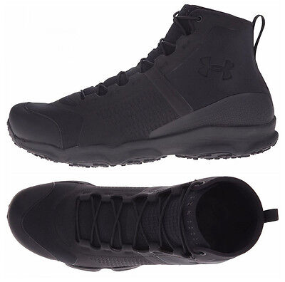 Mens Under Armour Speedfit Hike Outdoor Tactical Boots Black Military Boots NEW
