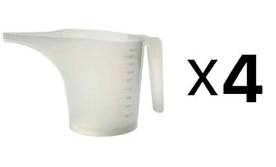 Norpro New Measuring Funnel Pancake Batter Pitcher, 3.5-Cup/28oz/900ml (4-Pack)