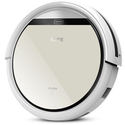 Chuwi Ilife V5 Intelligent Robotic Vacuum Cleaner Set LCD Remote Control Robot