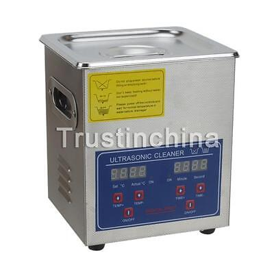 Ultrasonic Cleaner 2 L Liter Industry Heated Heater w/Timer Jewelry Cleaning CA