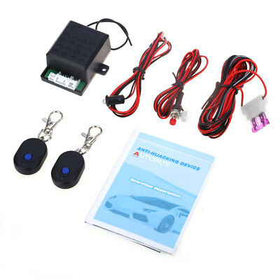 Car Automotive Engine Immobilizer System Anti-robbery Anti-stealing Alarm System