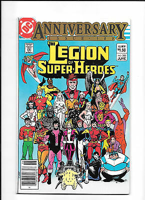 Legion Of Super Heroes #300 (9.2) Anniversary