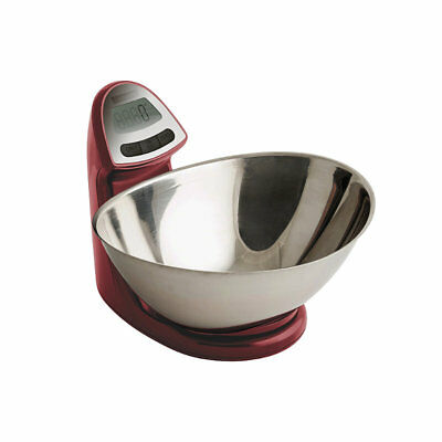 Typhoon® Vision Electronic Red Add & Weigh Kitchen Weighing Scales