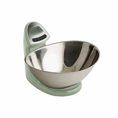 Typhoon® Vision Electronic Peppermint Add & Weigh Kitchen Weighing Scales