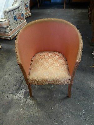 Vintage Retro Loom Chair great shabby chic upcycle project