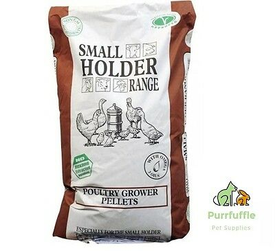 20Kg Allen & Page Small Holder Range Poultry Grower Pellets Chicken Bantam Food