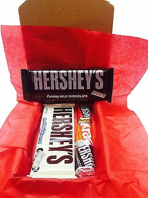 Hershey's American Chocolate Candy Gift Box Hamper Foods Imported Hershey Bar S