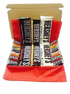 Hershey's American Chocolate Candy Gift Box Hamper Foods Imported Hershey Bar L