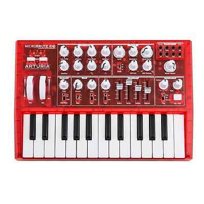 Arturia Microbrute Semi-Modular Analogue Synth Limited Edition Red