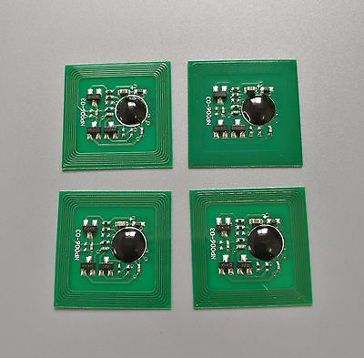 4 x Toner Chips for Xero Phaser 7760 7760DN 7760DX 7760GX 106R01160 ~ 106R01163