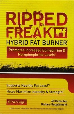 Pharmafreak Ripped Freak Hybrid Fat Burner FAT LOSS, 60 Capsules - BRAND NEW