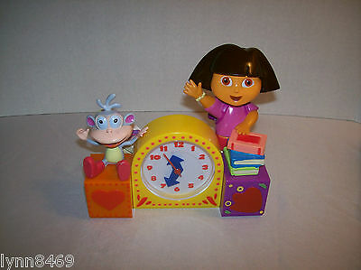 Dora The Explorer & Boots Singing Alarm Clock