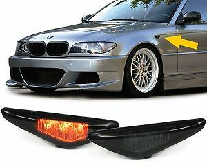 Smoked Led Side Indicators Repeaters Bmw E46 3 Series Coupe & Convertible 03-07