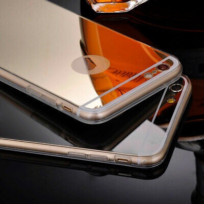 Luxury Ultra-thin Silicone Mirror Soft TPU Case Cover for Apple iPhone 5 5s SE