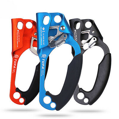 Abseiling Rescue Lifting Rock Climbing Right Hand Ascender Rope Clamp Equipment