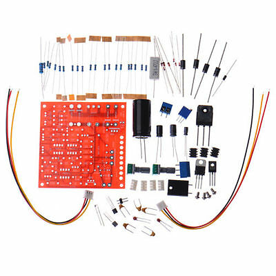 DIY Kit 0-30V 2mA-3A DC Power Supply Short Circuit Current Protection Adjustable