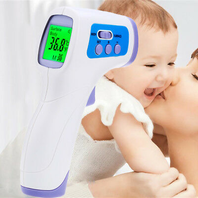 PC868 Infrared Gun Thermometer Non-contact IR Temperature Measurement Device New