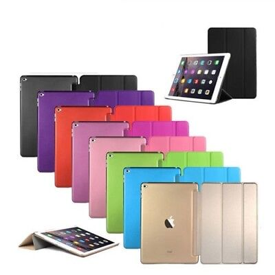 "3 FOLDING Slim Leather Magnetic Smart Case Cover For Apple iPad Pro 12.9"" 9.7"""