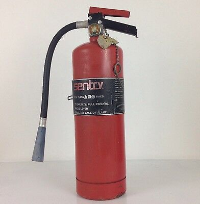 Vintage Collectible Sentry Fire Extinguisher 1974 Equipment