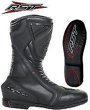 Rst Paragon 2 Waterproof Leather Sports Touring Motorbike Boot Ce Approved Black