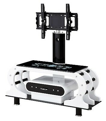 """Universal Tv Stand With Bracket For 32"""" - 62"""" + Glass"""