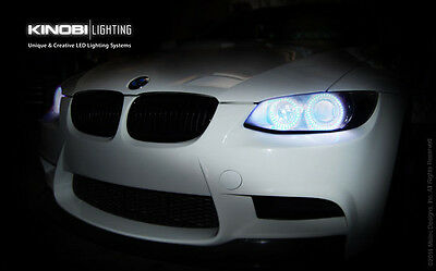 New BMW E92 Multi-Color LED Halo-Angel Eyes Rings kit with REMOTE Buy It!