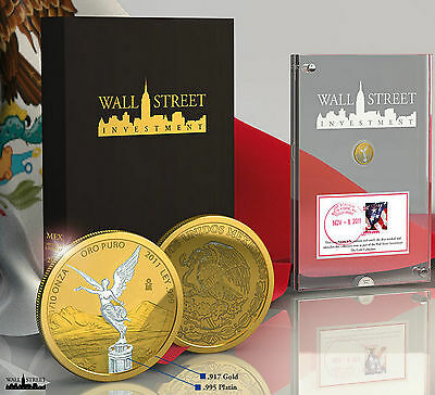 Wall Street Investment Collection Libertad 2011 Gold, Platin