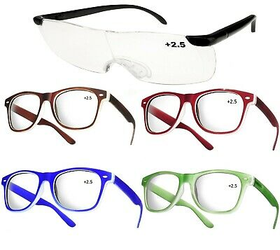 Unisex Women Men READING GLASSES +2.5 Eyeglasses Trendy Reader LA