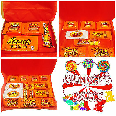 Reese's American Candy Chocolate Peanut Butter Cups Hamper Birthday gift Present