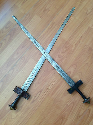 1880 North African Mahdi Broadsword Kaskara or Takooba with Scabbard