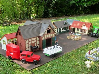 Zenner Town 1, 80 Pieces, for G Scale Garden railway and for 1 gauge