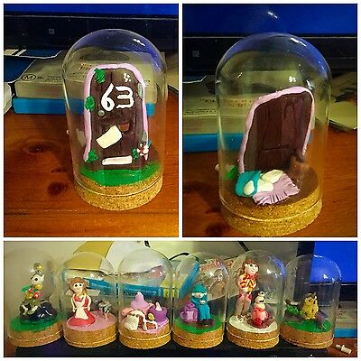 Glass Domed Figurines