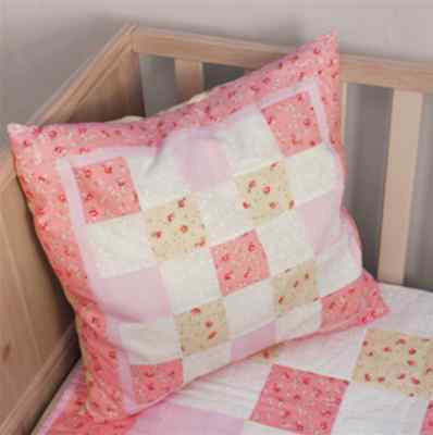 NEW Sew Easy Quilt Kit: Create A Cushion | Girls | Pink | FREE DELIVERY