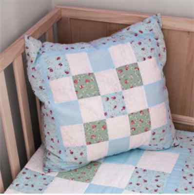 NEW Sew Easy Quilt Kit: Create A Cushion | Boys | Blue | FREE DELIVERY