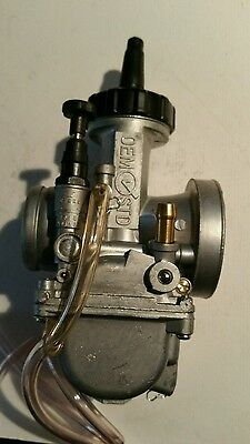 36mm  FLATSLIDE Honda CR CARB 250CC PWK MOPED SCOOTER PIT MOTORBIKE