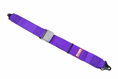 "3"" Chrome Lift Latch Seat Belt Lap Belt Purple Restomod Rat Rod 2 Point 74"""