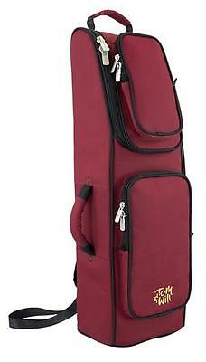 Tom and Will 36BA-359 Bassoon Gig Bag Case, Burgundy Red + Black **NEW**