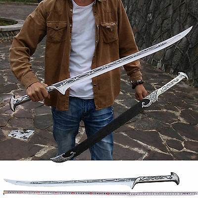 """33.8"""" LOTR Lord of the Rings Hobbit Elven King Dagger Sword Blade Cosplay #2954"""