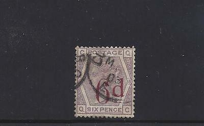 1883 Great Britain   Sc#95 Used Stamp Queen Victoria
