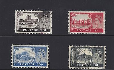 1955  Great Britain   Sc#309-12 Complete Used Set