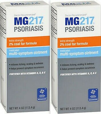 MG217 Medicated OINTMENT Intensive Strength 4 oz ( 2 pack )