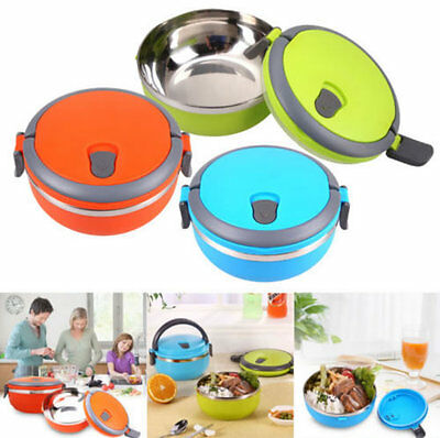 Boxes Thermal Insulated Bento Stainless Steel Lunch Box Picnic Food Container