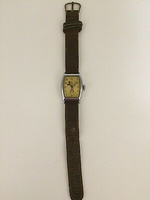 Vintage 1948 Mickey Mouse Collectable Watch